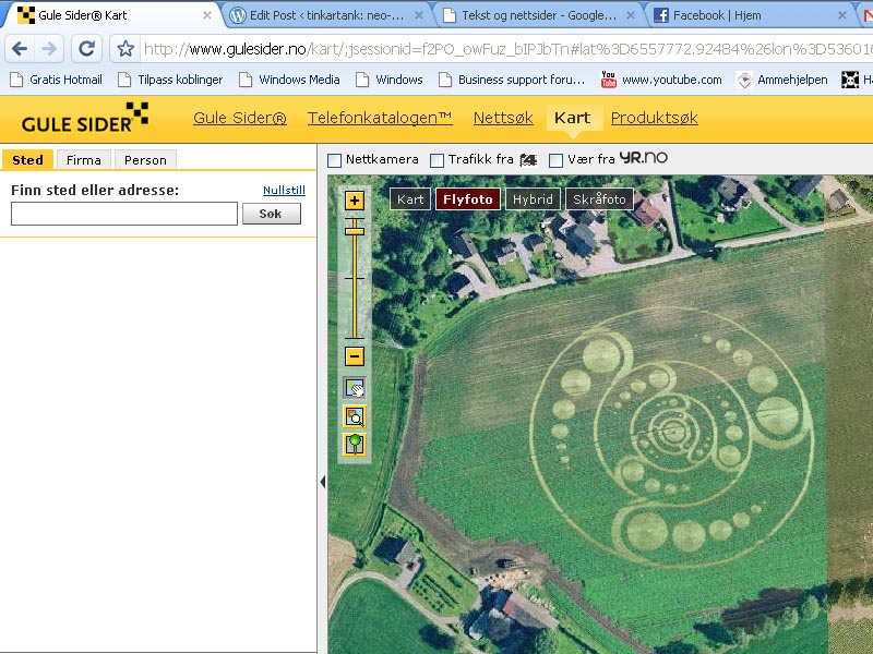 google kart trafikk The Crop Circle Incident | neo norwegian experiments in art and  google kart trafikk